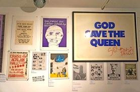 Punk graphics Hayward Gallery London