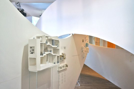 Akihisa Hirata exhibition at architecture foundation