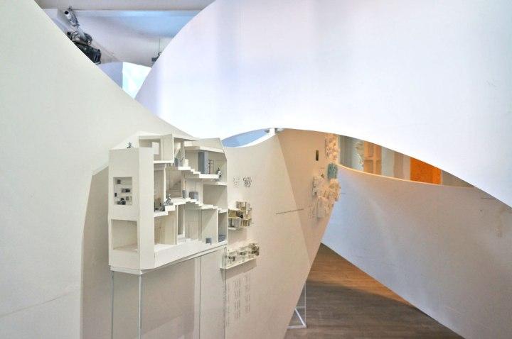 Akihisa Hirata exhibition at architecture foundation