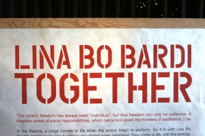 Lina Bo Bardi, Together