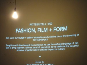Patternity talk