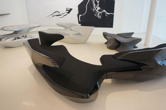Zaha Hadid Design Gallery Minna Takala Seeing The