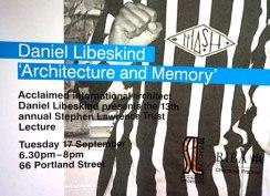 Daniel Libeskind talk