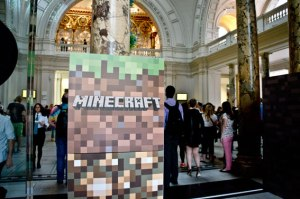 Minecraft at V&A