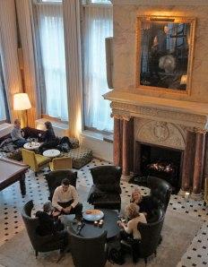 Edition Hotel London lobby