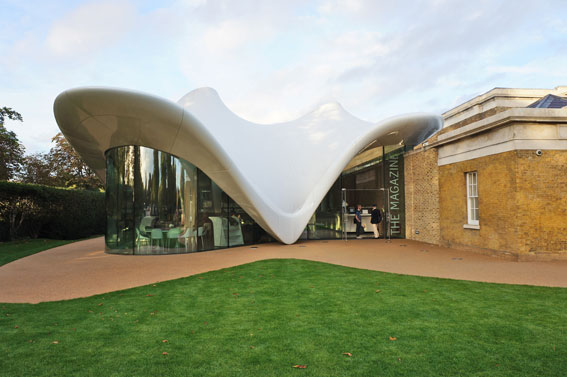 First Zaha Hadid Building in London – Trending design ...