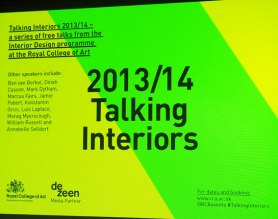RCA Talking Interiors
