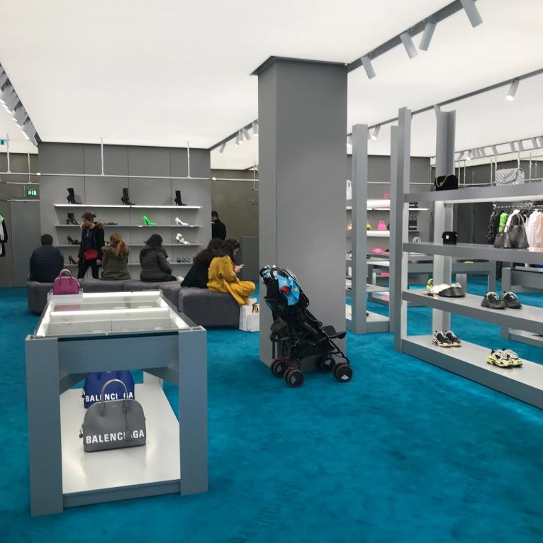 Balenciaga store 2019