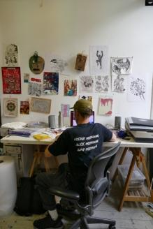 Hackney Wick Artist studio